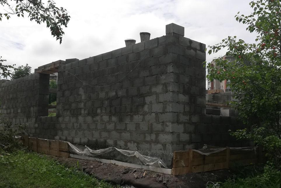 Возведения стен