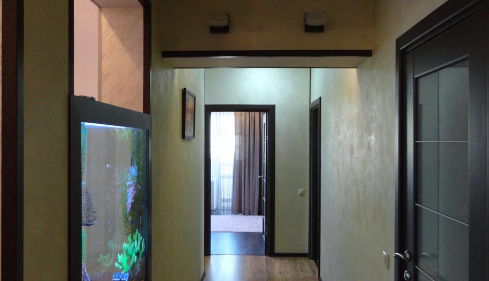 Внутренняя отделка квартиры.