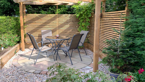 oak sleepers, fencing and pergolas