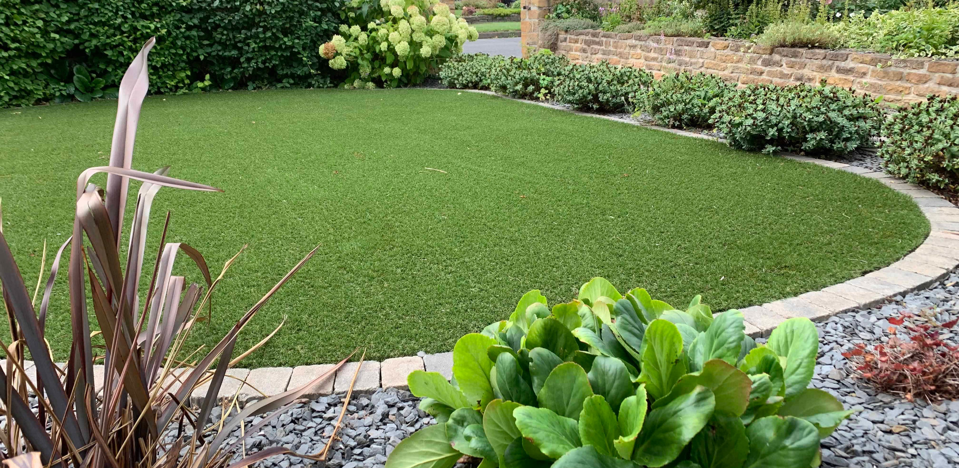 Natural turfing in Chilwell