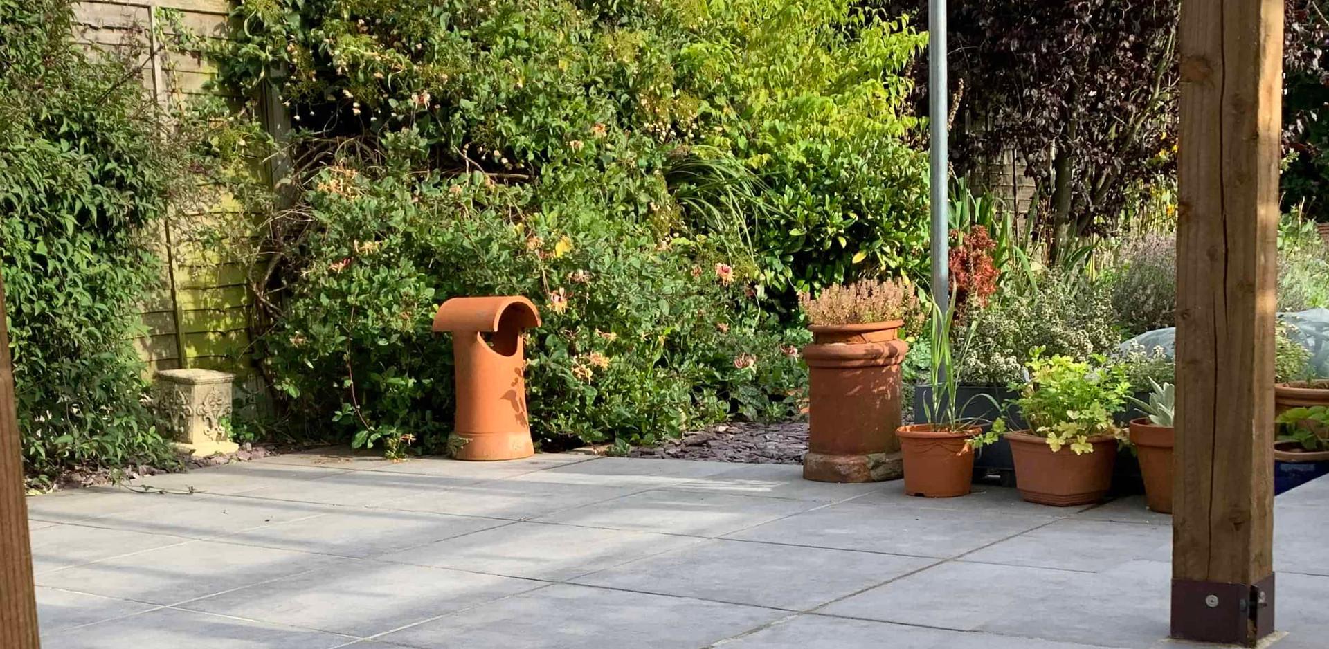 Porcelein paving in Carlton