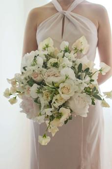 Full British Rose Peony Sweet Pea Brides