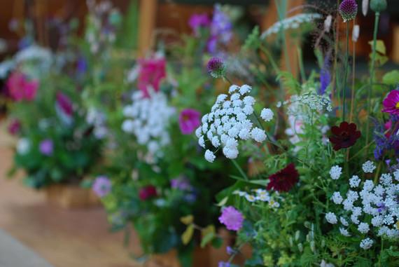 Summer Flower Meadows Wedding Aisle Seve