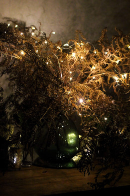 Moody Bracken Fairy Lights Florist Centr