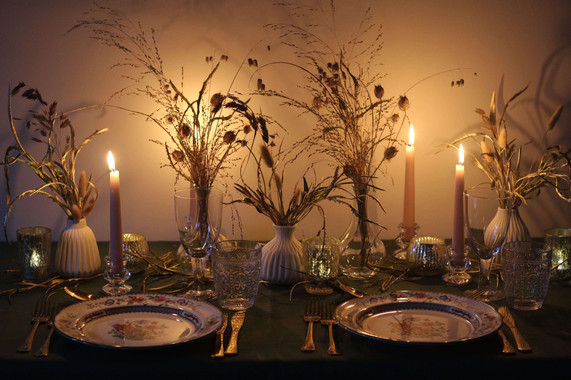 Night Table Grasses Dried Flower Kent Fl