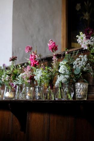 Pink White Delicate Bud Vase Flowers.JPG