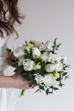 White Cream Spring Brides Flowers Kent.J