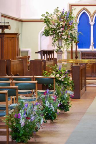 Church Flowers Aisle Meadows Urn.JPG