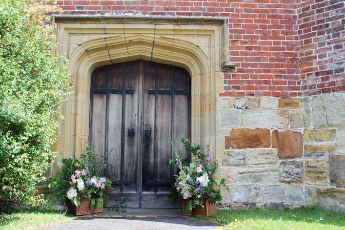 Sevenoaks Church Wedding Flowers Natural