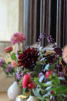 Autumnal Berry Tones Church Wedding.JPG