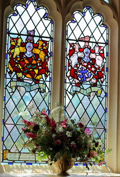 Ceremony Church Flowers British Summer.J