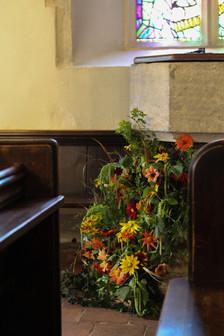 Tunbridge Wells Church Weddings Flowers.