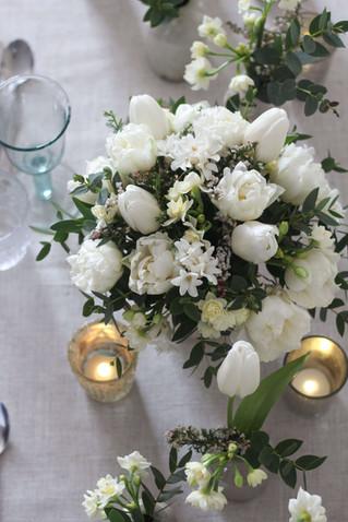 Spring White Table Flowers Wedding.JPG
