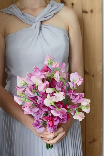 Sweet Pea Bridesmaid Bouquet.JPG