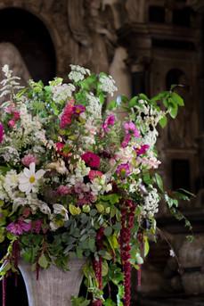 Wedding Urn Arrangements British Pink Wh