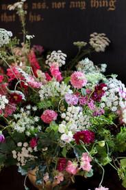 Pink White Green Enligh Flower Arrangeme