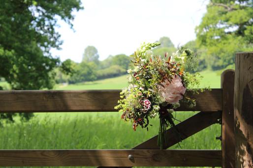 Kent Meadow Wedding Entrance Flowers.JPG