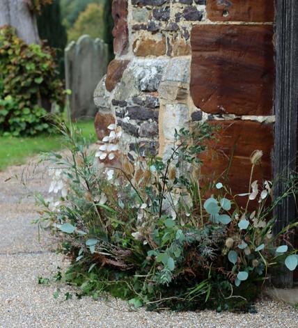Church Entrance Flower Arrangements Kent