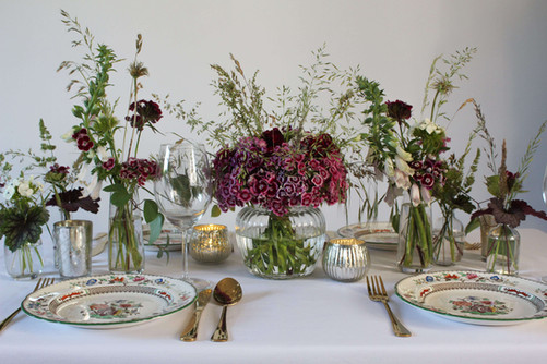 Sweet William Grasses Flower Table Kent.