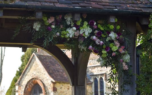 Cecily & Ernest Florist Church Lychgate