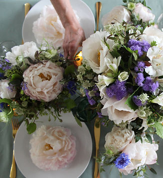 Peony Event Table Flowers Pink