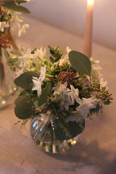 Narcissi Eucalyptus British Winter Table