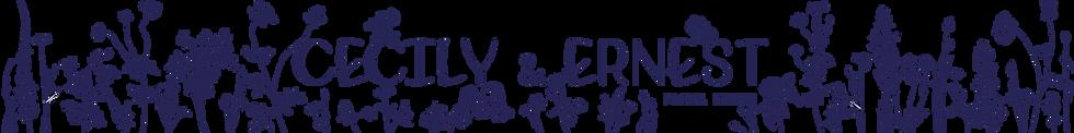Cecily & Ernest Florist Logo