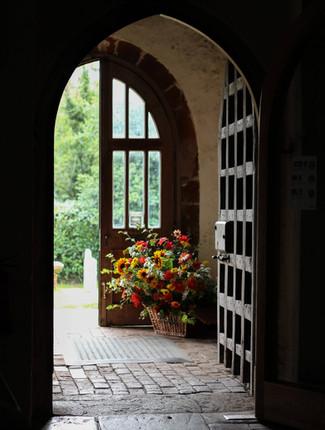 September Church Entrance Flowers Ightha