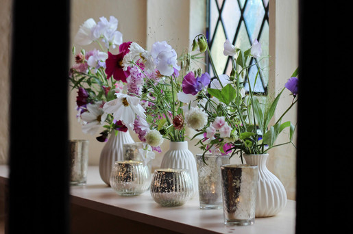 Wedding Flowers Sweet Peas Church.jpg