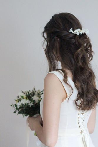 White Spring Wedding Bride Kent.JPG