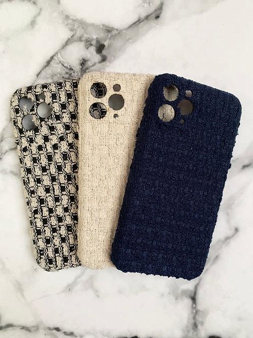 Mika + Co. // Tweed iPhone 11 Case