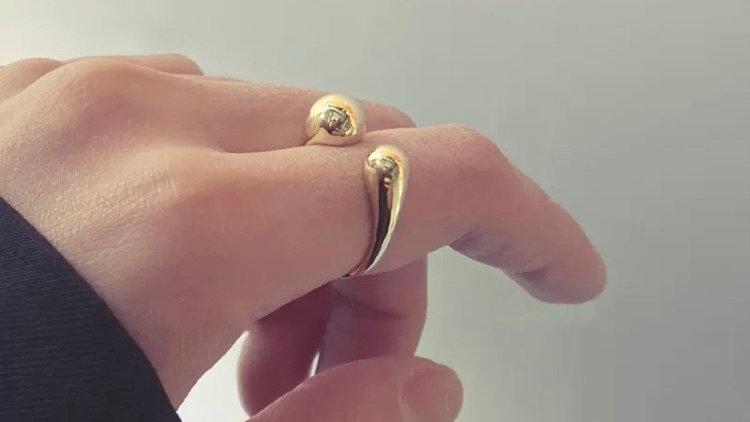 U Shaped Ring