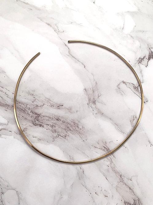 MASHALLAH // Round Brass Wire Choker