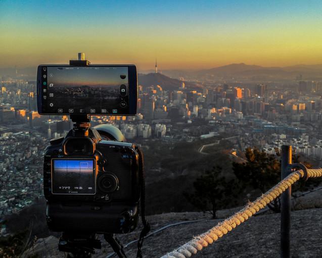 Seoul Sunset Work