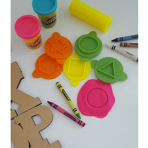 Shapes Set Play Doh Stamps