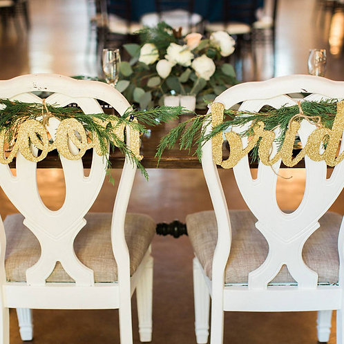 bride and groom sign style 1