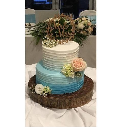 Mr & Mrs Mr & Mr or Mrs & Mrs Vine Cake Topper