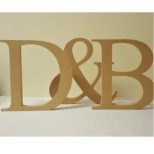 Free standing Letters Style 13