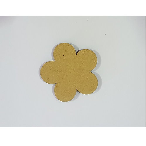Packs of Shapes Cut Out 3mm - Flower