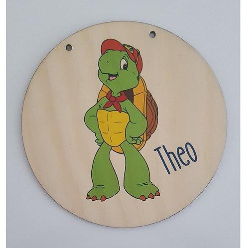 Turtle Personalised Printed Plaque