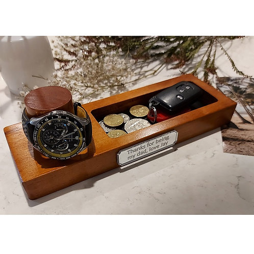 Personalised Watch Holder and Tray