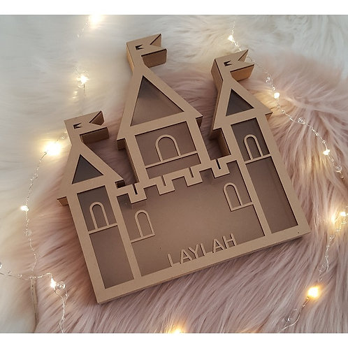 Personalised Name Castle Box