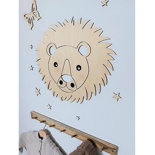 Wooden Lion - Unpainted