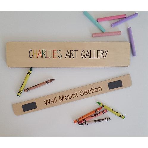 Artwork Hanger Personalised Art Gallery