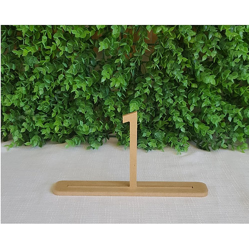 Art Deco Style Table Numbers