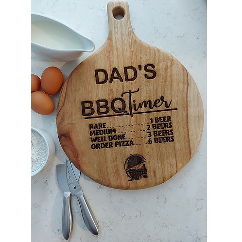 Personalised BBQ Board
