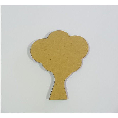 Packs of Shapes Cut Out 3mm - Tree