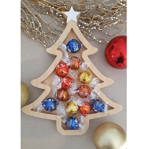 Personalised Pine Fillable Christmas Tree