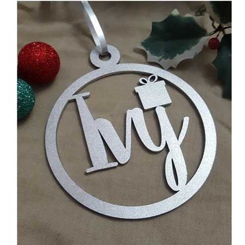 Personalised Christmas Bauble Ornament