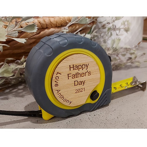 Personalised Tape Measure - Father's Day